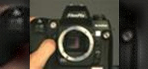 Clean the digital sensor on a Fuji S3 Camera