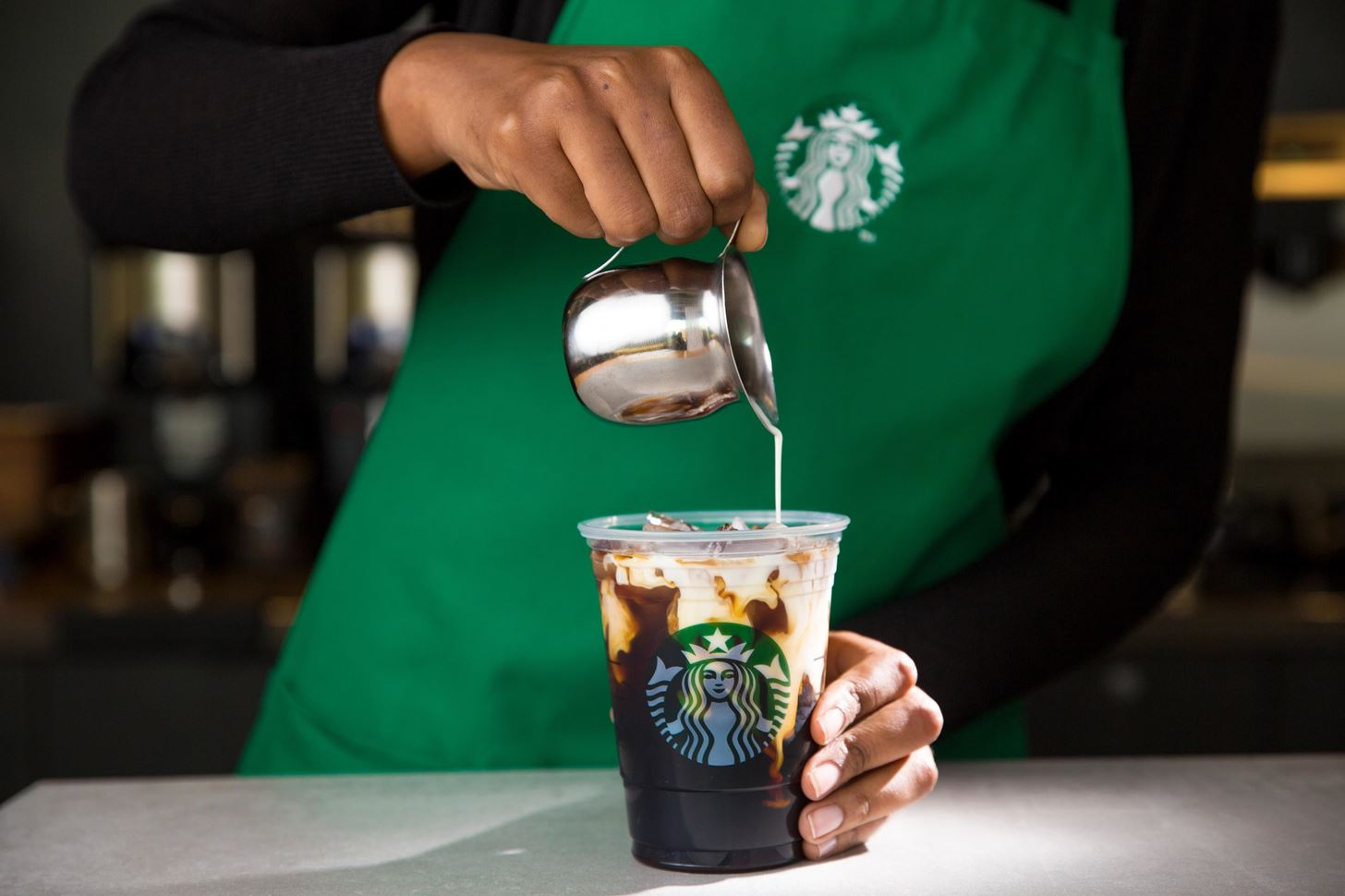 Skip the Line & Make Your Own Starbucks' Vanilla Sweet Cream Cold Brew