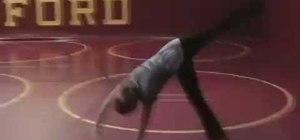 Do a proper cartwheel