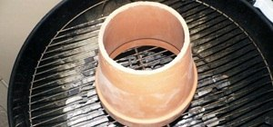 Turn Your Charcoal Grill into a Tandoori Oven Using a Flowerpot
