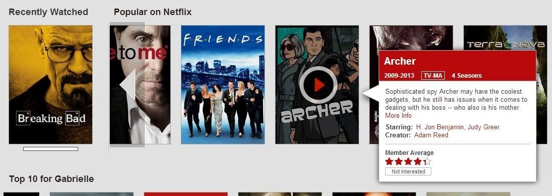 how to erase movies from continue watching on netflix