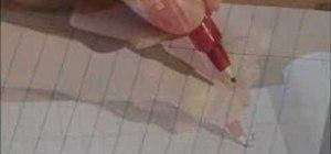 Write left handed