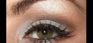 Create a sexy Kim Kardashian smokey cat eye