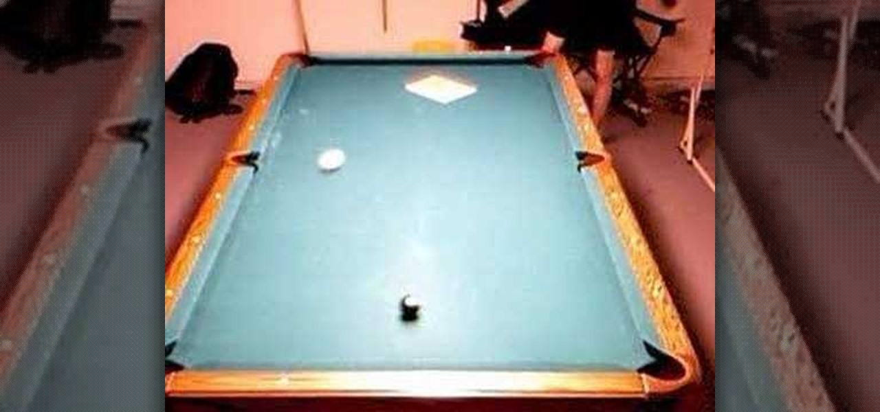 Vernon elliot s cross corner bank shot in pool 171 billiards amp pool