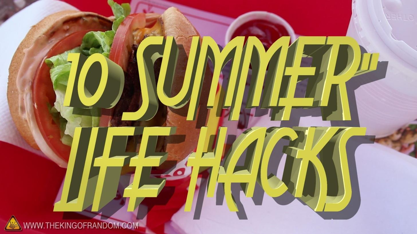 10 Life Hacks You Need to Know for a Better Summer
