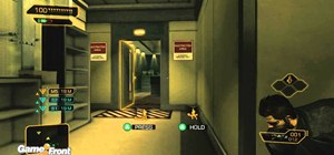Break into the police armory in Deus Ex: Human Revolution on the Xbox 360