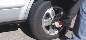 Replace a flat tire