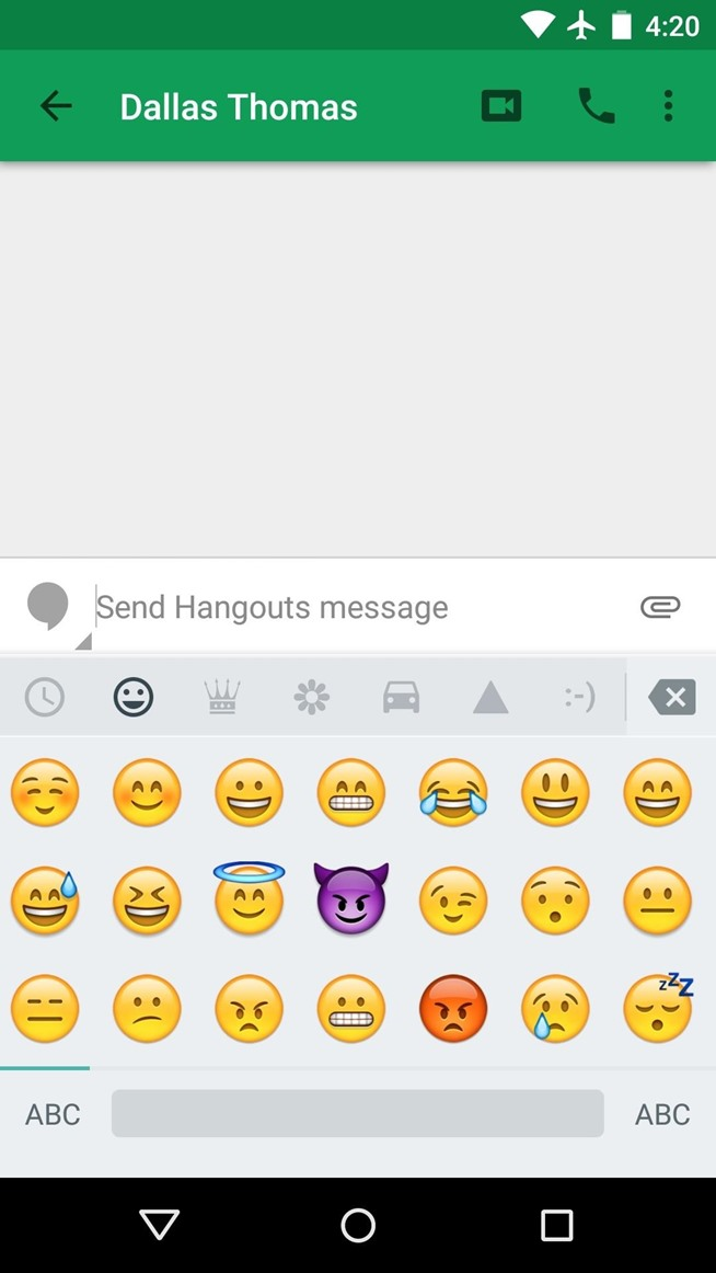 how to see emojis on android from iphone