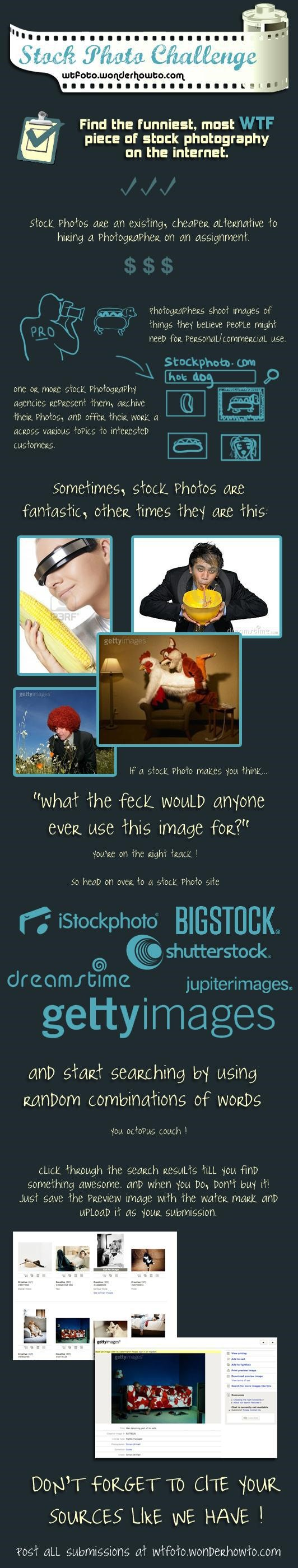 WTFoto Stock Photo Challenge! Find the Funniest WTF Stock Image Ever