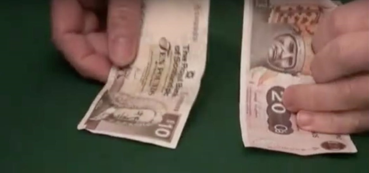 Transform a Bill with a Crazy Magic Money Trick