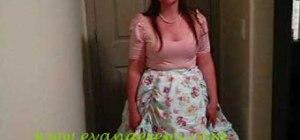 Make a ruffled and gathered Lolita skirt