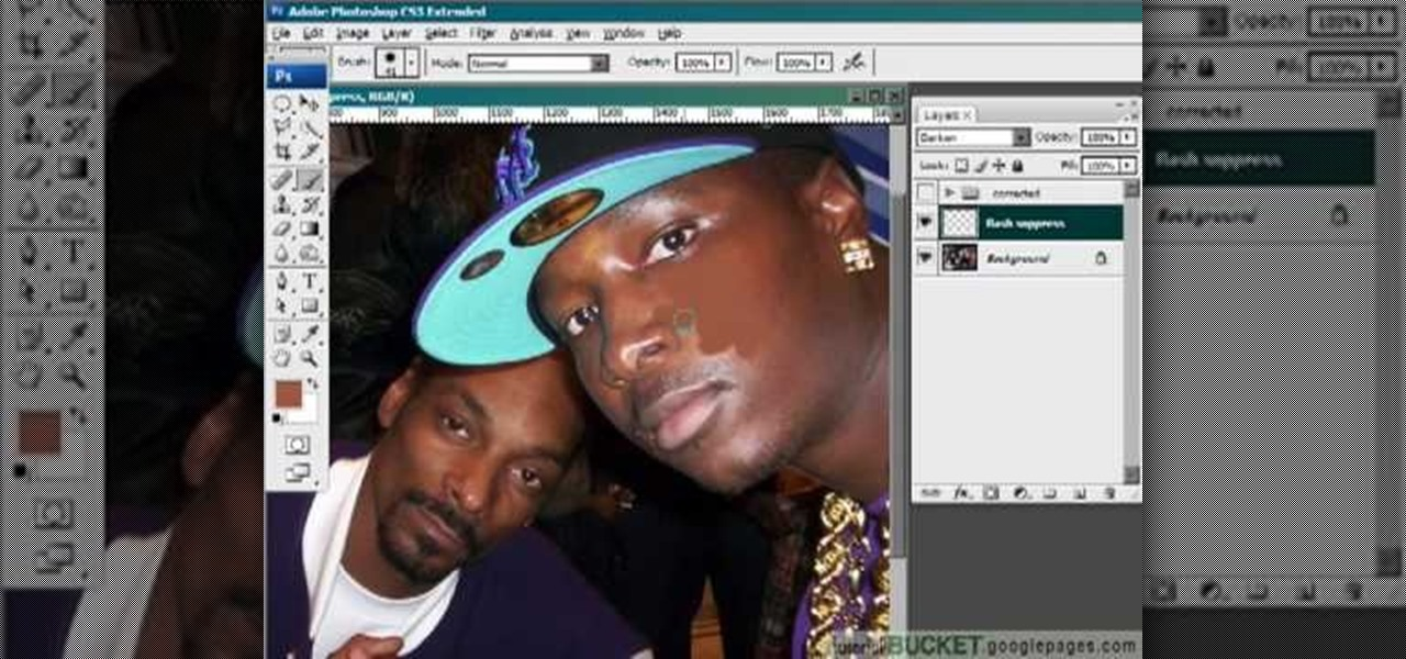 Hotspots in Photoshop