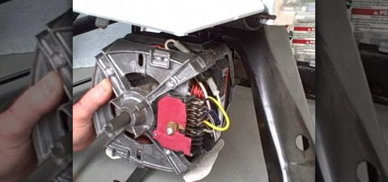 How to repair washing machine motor for Washing machine motor coupler replacement