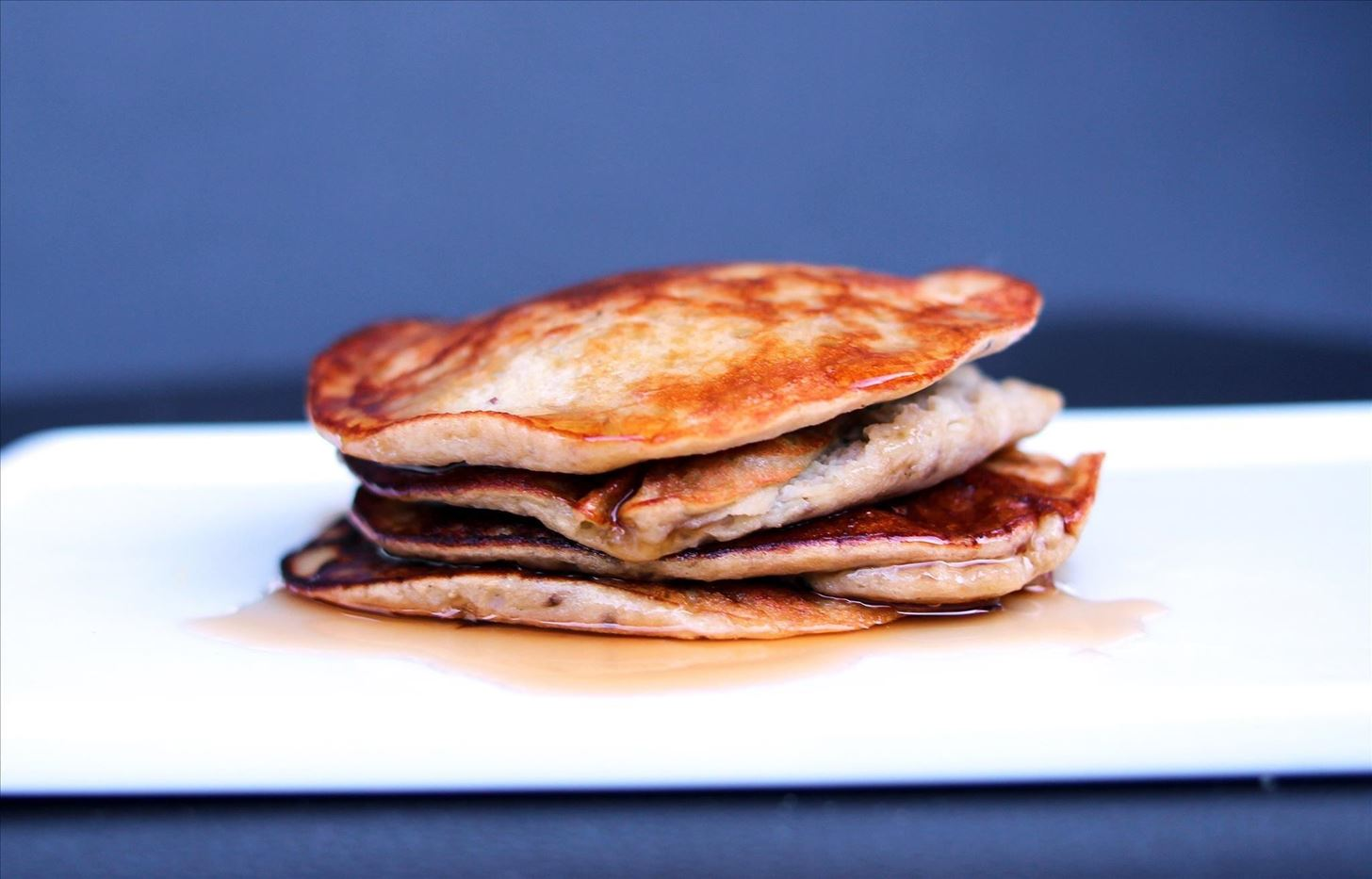 cook pancakes on high or low
