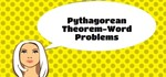 How to Use the Pythagorean Theorem to Solve Word Problems.