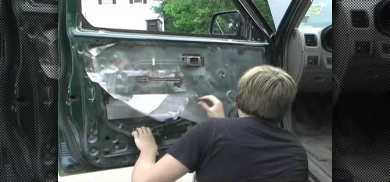 how to remove a car door panel auto maintenance repairs. Black Bedroom Furniture Sets. Home Design Ideas
