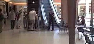 Approach women at the mall