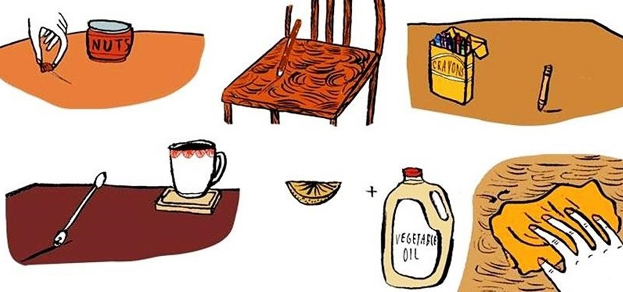10 Diy Ways To Repair Nicks Scratches On Wooden Furniture