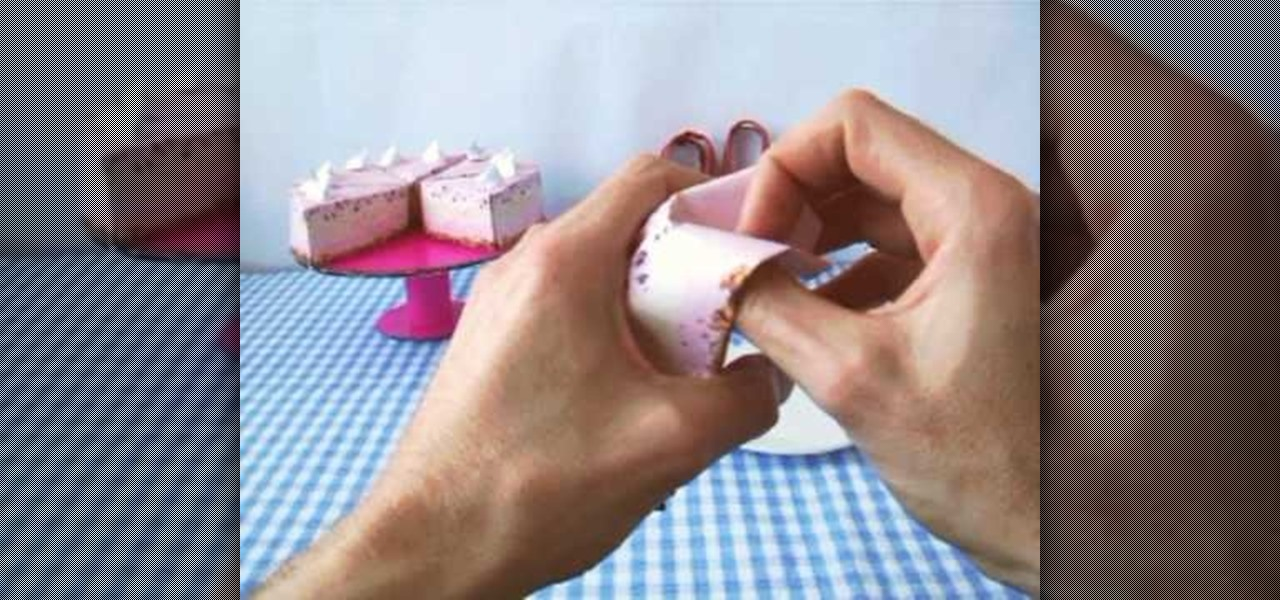 How To Fold A Realistic Pink Origami Cake Origami Wonderhowto