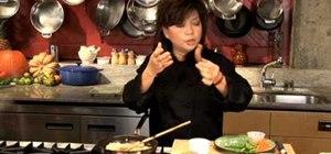 Stir fry pad (or phat) Thai with shrimp