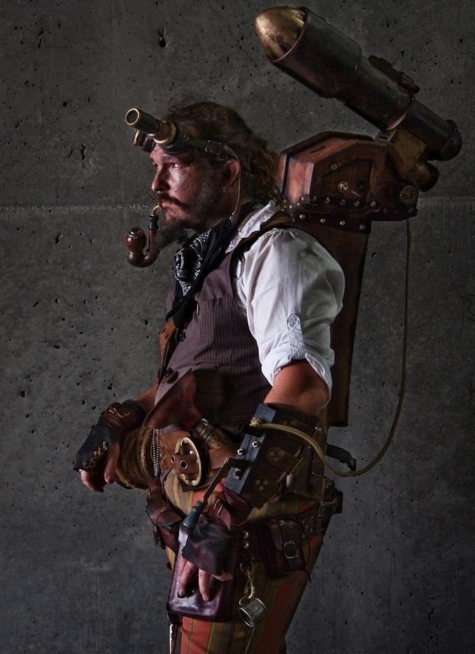 How To Create A Steampunk Persona RampD