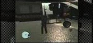 "Find the ""chopper hang"" glitch in Grand Theft Auto 4"