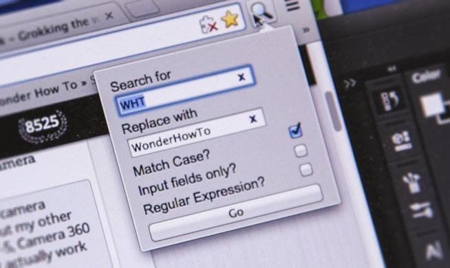 Conseils pour trouver et remplacer du texte dans Google Chrome et Firefox
