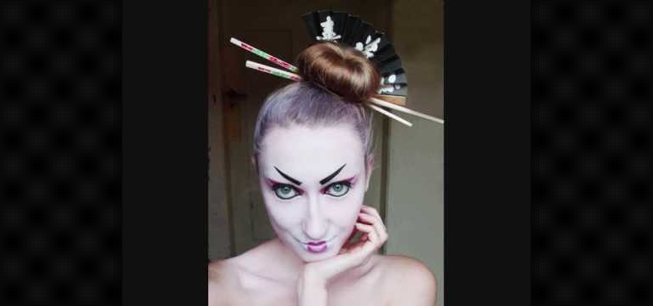 How To Create A Modern Geisha Makeup Look For Halloween
