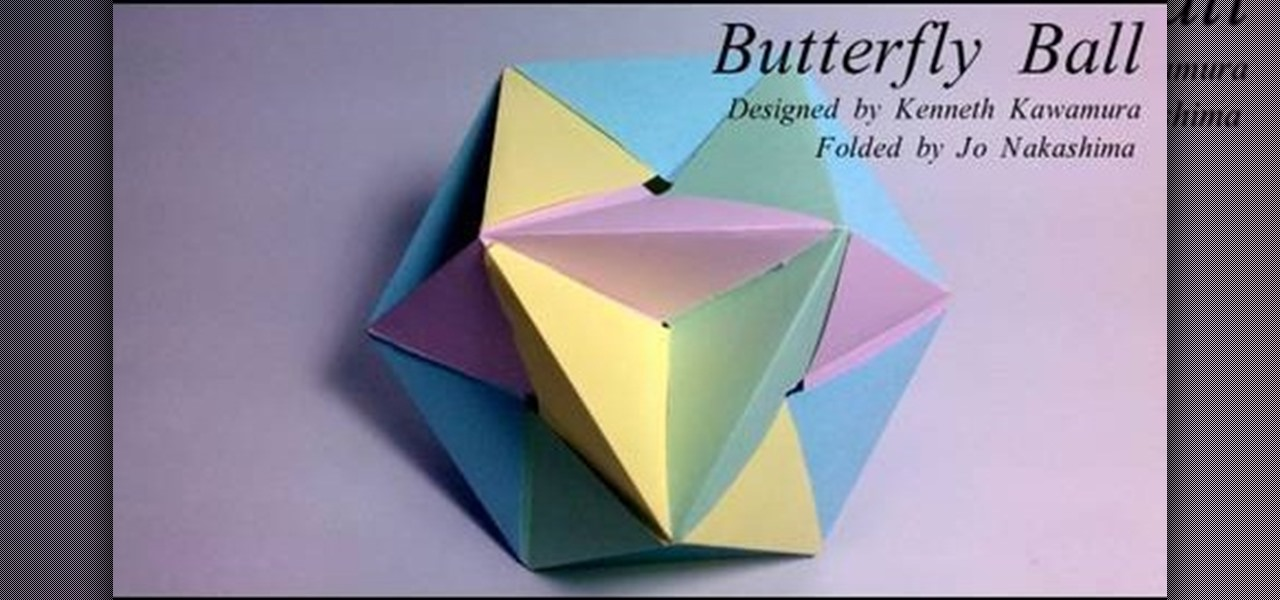 Easy Origami Butterfly - YouTube | 600x1280
