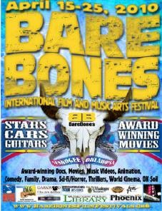 Bare Bones Film Festival Award Nominations!