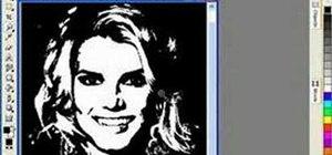 Create portrait scroll saw patterns in Corel Draw