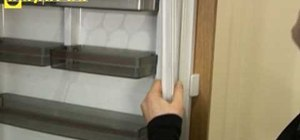 Replace the door seal on a Neff refrigerator