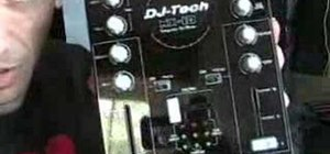 Use the MIX CONTROLE 10 from DJ-TECH