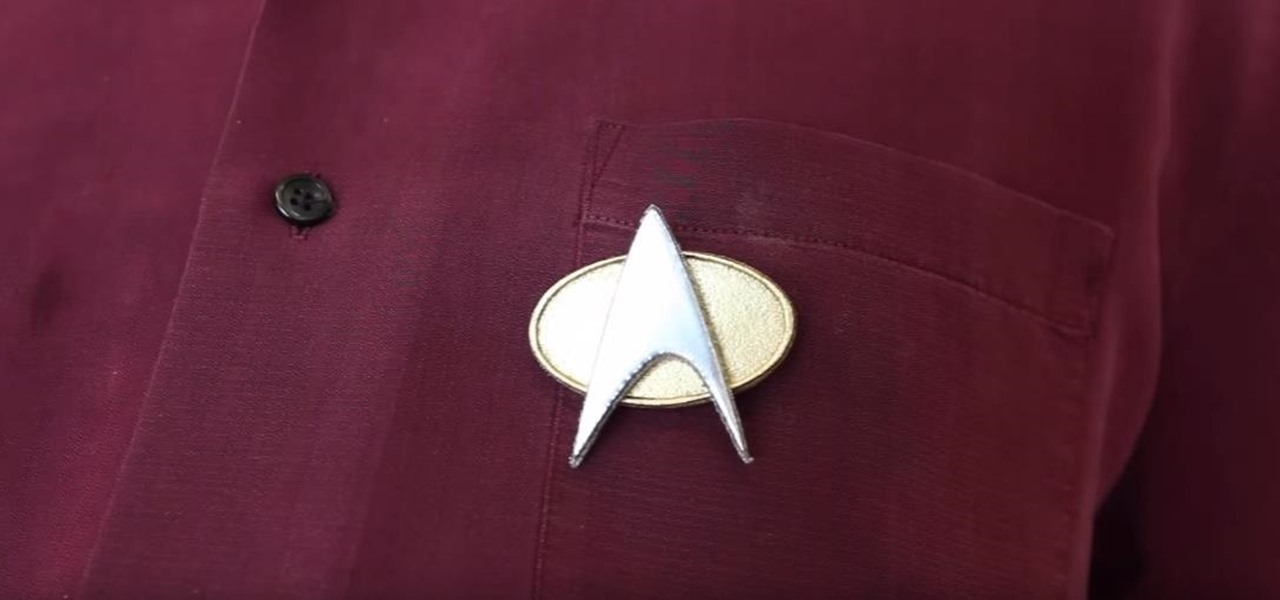 Make Star Trek Comm Badges