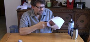 Craft a mobius strip out of paper