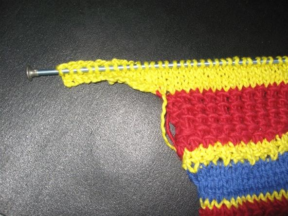 How To Cast On At The End Of A Row In Knitting Knitting Crochet