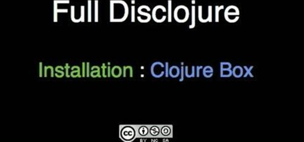 How To Install Clojure On A Windows Pc With Clojure Box