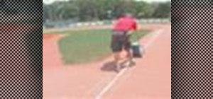 Line a baseball field