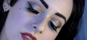 Get Dita Von Tesse's Perrier Mansion ad makeup look