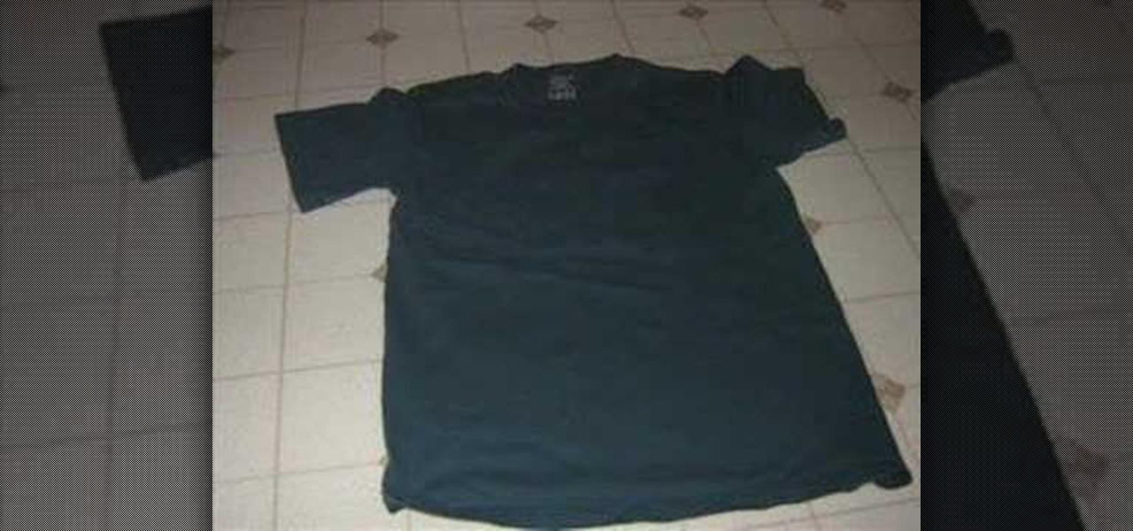 How to bleach t shirt designs fashion design wonderhowto for How to bleach designs into shirts