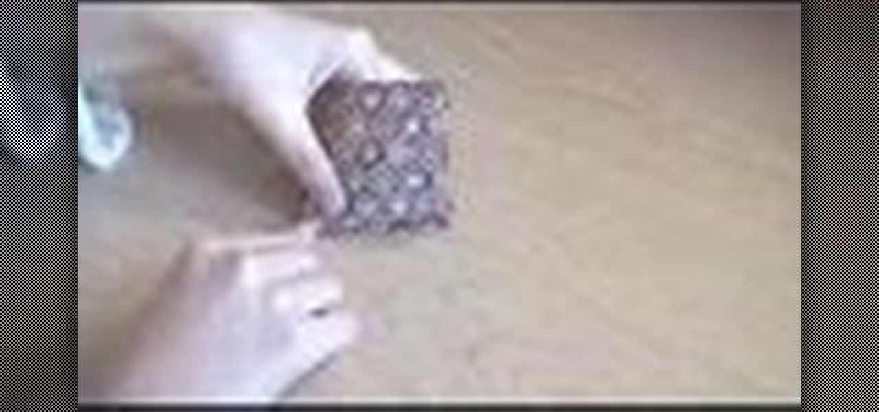 How To Fold An Origami Decorative Box Origami Wonderhowto
