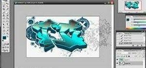 Make graffiti using Photoshop