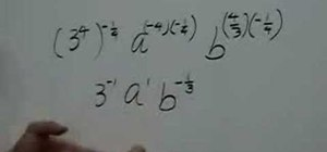 Simplify algebraic expressions with rational exponents