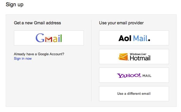 How to make email google account