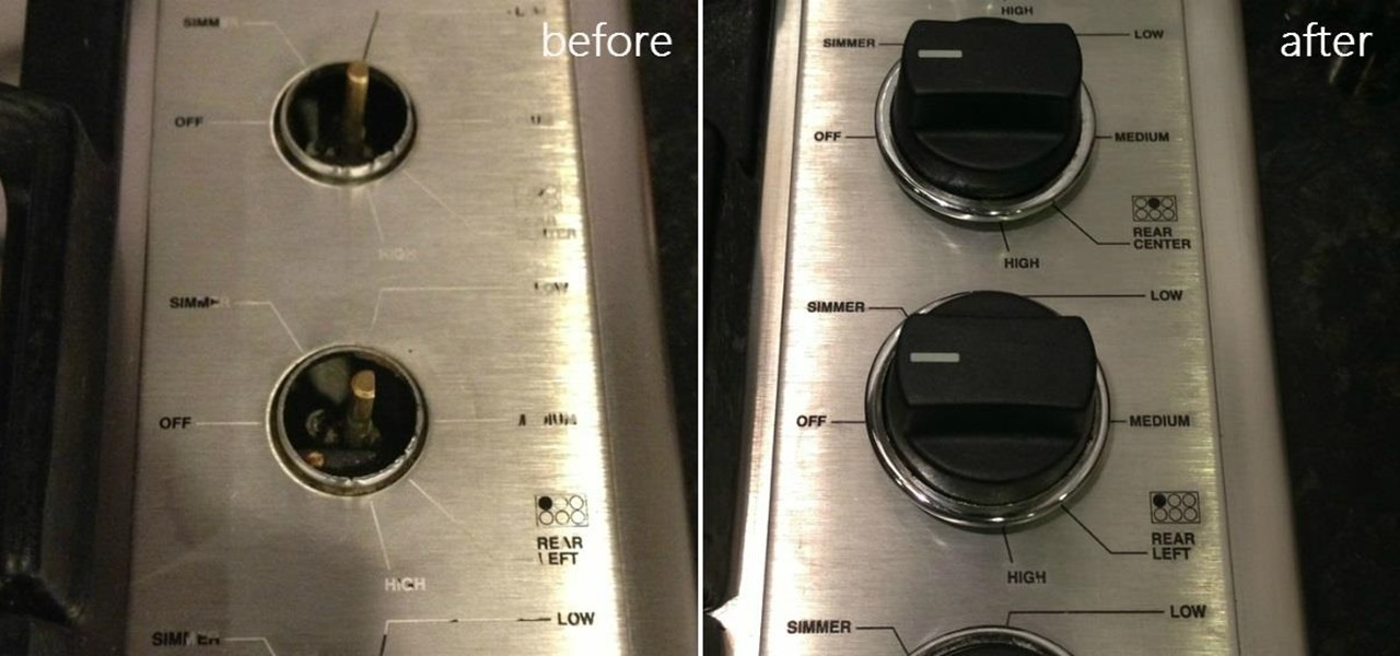 Replace Worn Off Lettering on Home Appliances with Sugru
