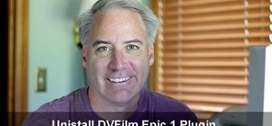 Uninstall the DVFilm Epic 1 plugin for Sony Vegas 9 Pro