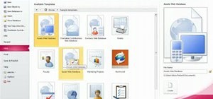 Use the Backstage view in Microsoft Access 2010