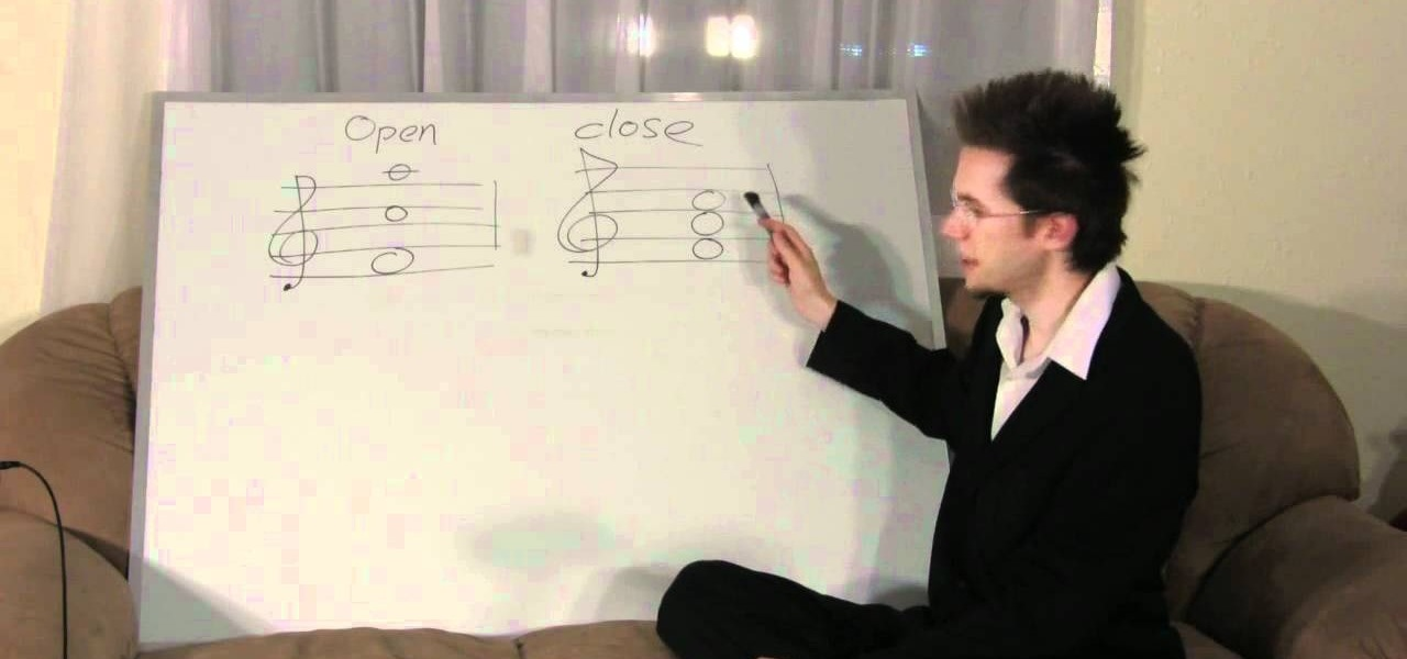 How To Play Open And Closed Chords On The Piano Piano Keyboard