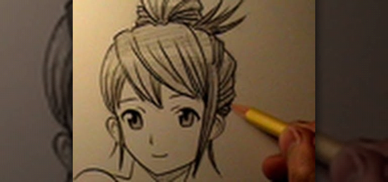 How to Draw four different styles of manga hair for girls and boys ...