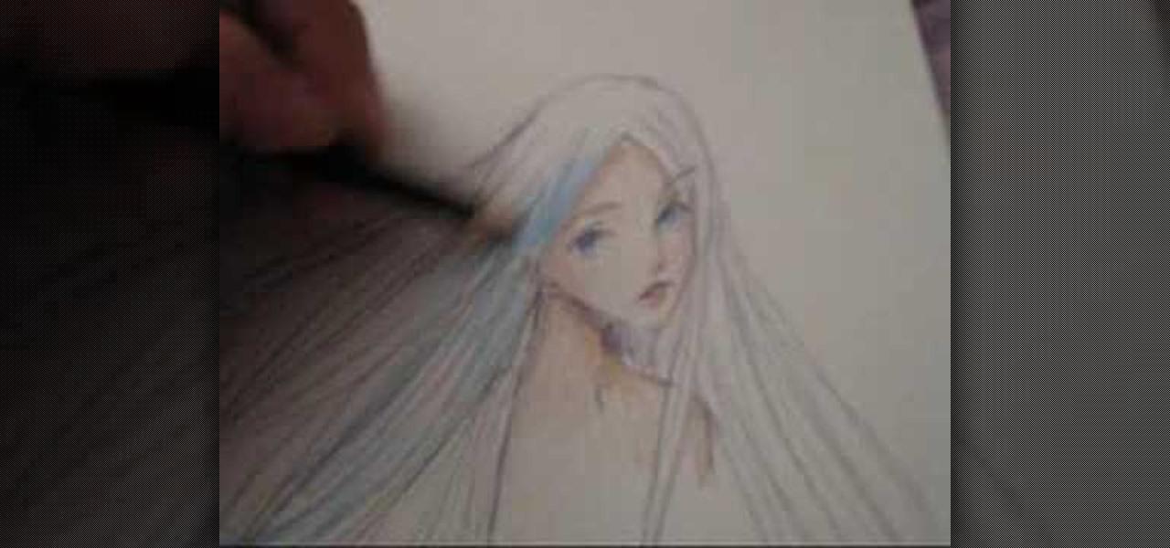 How To Draw Long Manga Hair 171 Drawing Amp Illustration